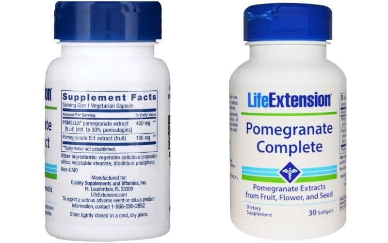 خواص انار - Life Extension Pomegranate (2 Pack)