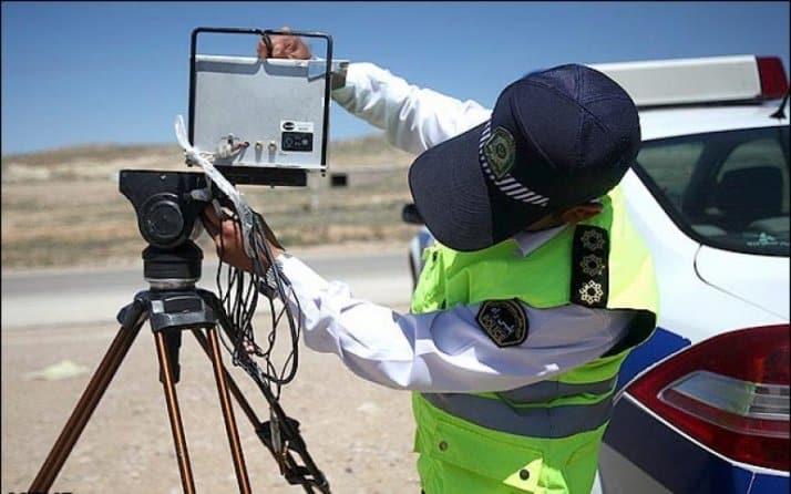 پلیس و ثبت جرایم و تخلفات رانندگی