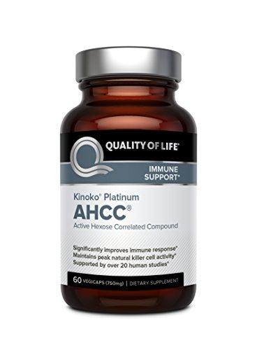 کپسول AHCC پلاتینم کینکو Kinoko Platinum AHCC