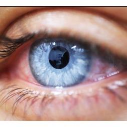 یک تغییر دوست داشتنی در صورت با قطره تغییر رنگ چشم iCOLOUR