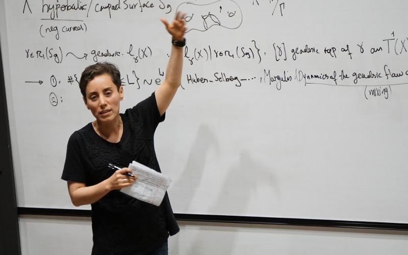 مریم میرزاخانی - Maryam_Mirzakhani ۳