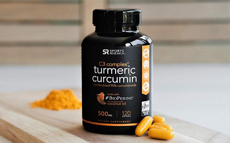 زردچوبه - Turmeric Curcumin C3
