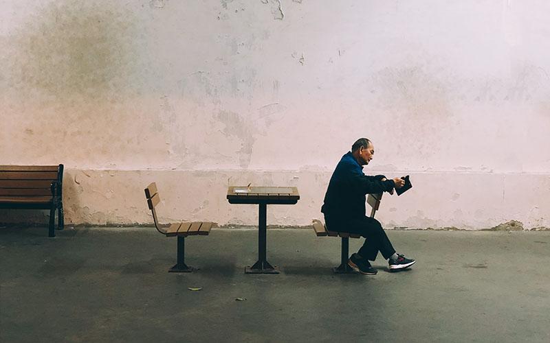 داستان صوتی کوتاه پیرمرد چینی