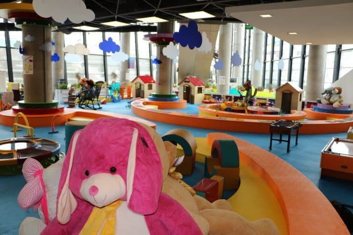 خانه کودک مکانی برای بازی و نگهداری از کودکان