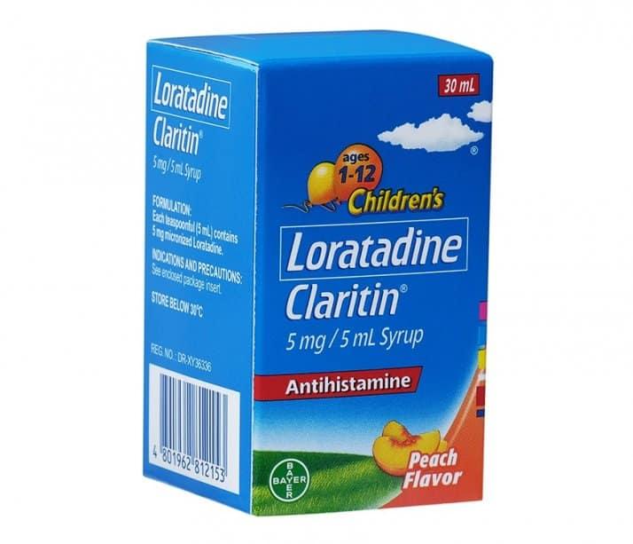 شربت لوراتادین برای حساسیت کودکان
