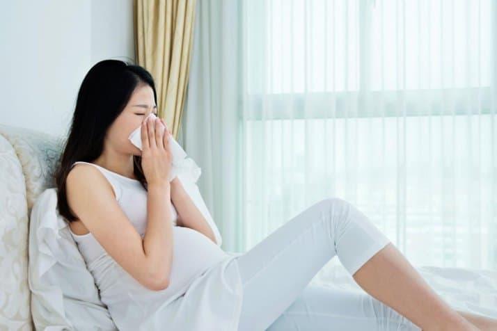 مصرف لوراتادین در دوران بارداری بلامانع است.
