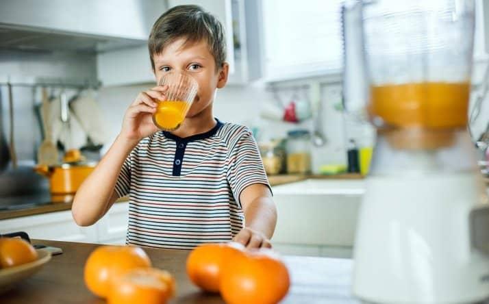 برای تامین ویتامین c آب پرتقال بنوشید