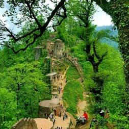 قلعه رودخان؛ شگفت انگیزترین قلعه نظامی قرون وسطایی ایرانیان