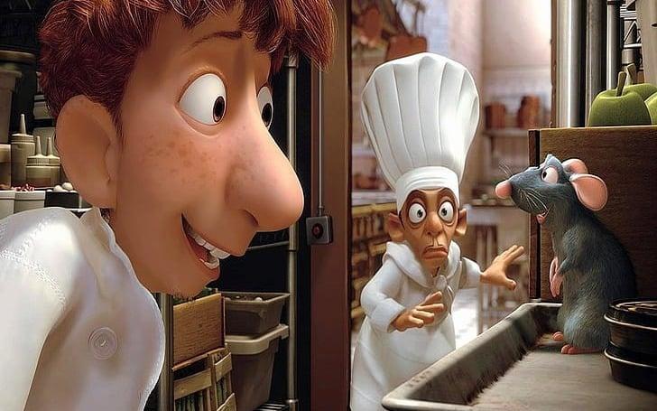 انیمیشن-موش سرآشپز