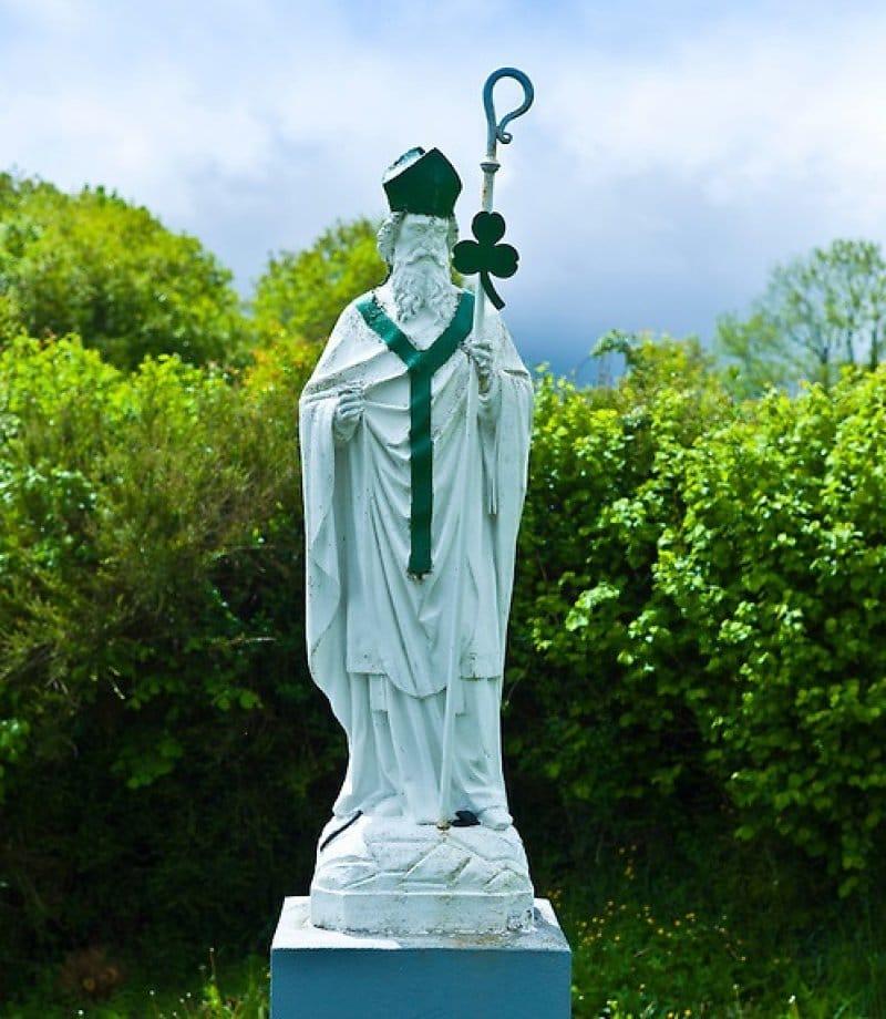 سنت پاتریک روحانی مبلغ مسیحیت