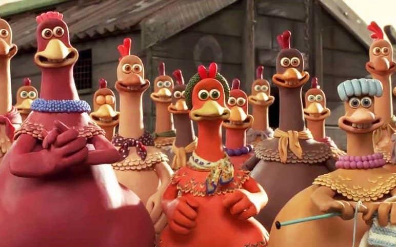 انیمیشن-فرار مرغی