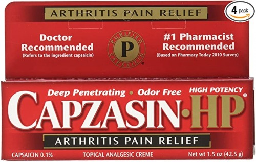 Capzasin-HP arthritis cream بهترین پماد درد