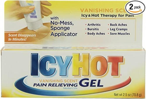 Icy Hot vanishing gel بهترین پماد درد