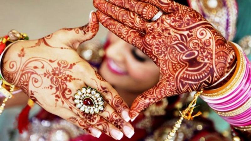 حنا و تعریف زیبایی در هند