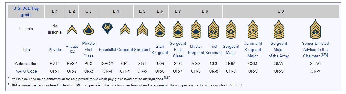 گروهان ارتش آمریکا