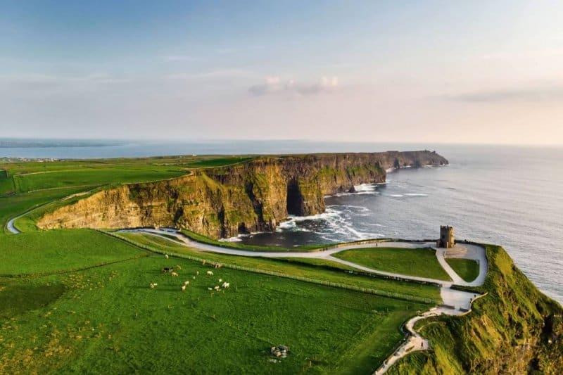 صخرههای موهر در ایرلند- زیباترین مکان های جهان