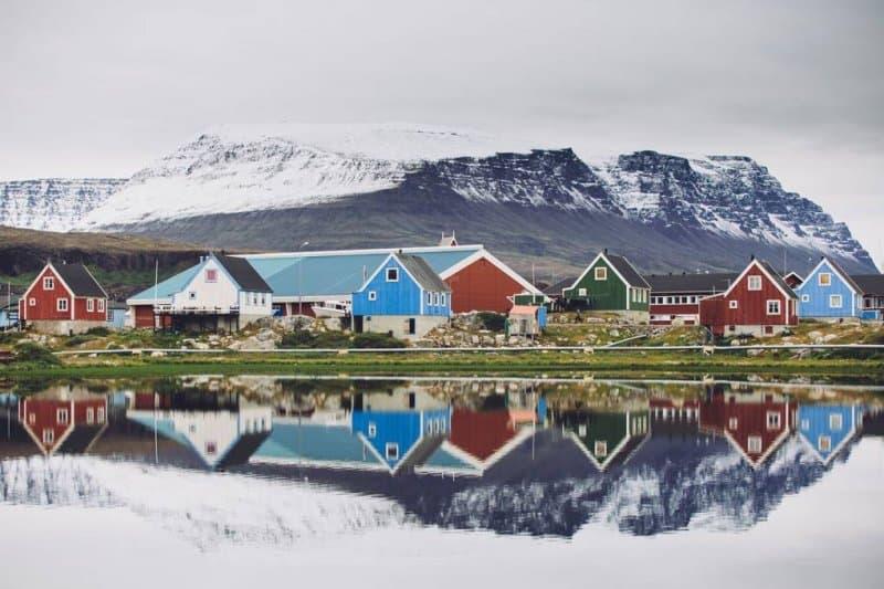 خلیج دیسکو در گرینلند- زیباترین مکان های جهان