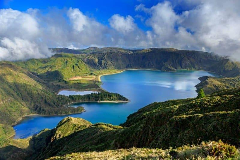 جزایر آزور پرتقال از زیباترین مکان های جهان