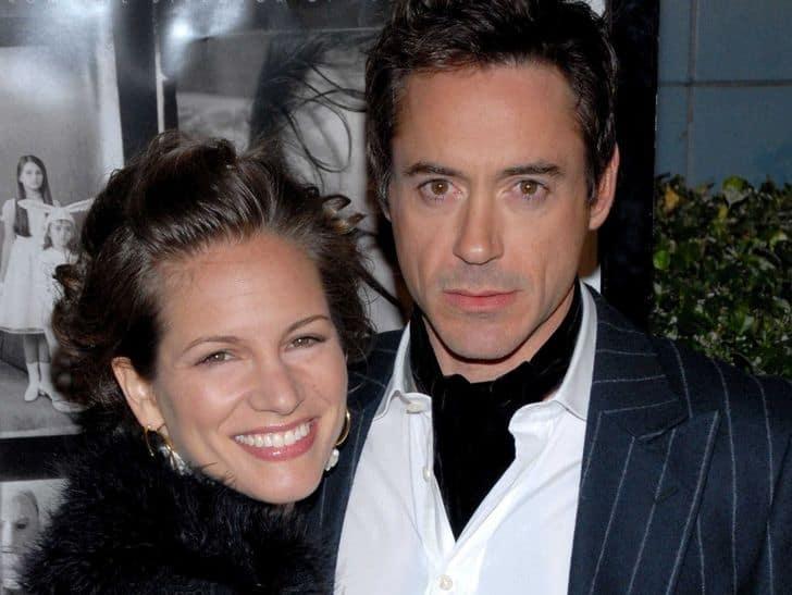 رابرت داونی جونیور و همسرش