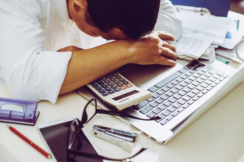 مضرات اعتیاد به کار و خستگی زیاد