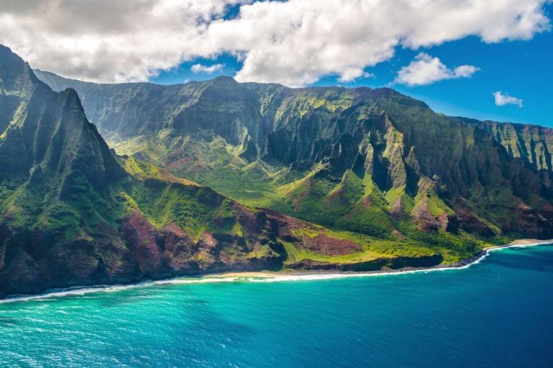 ساحل نا پالی در هاوایی- زیباترین مکان های جهان