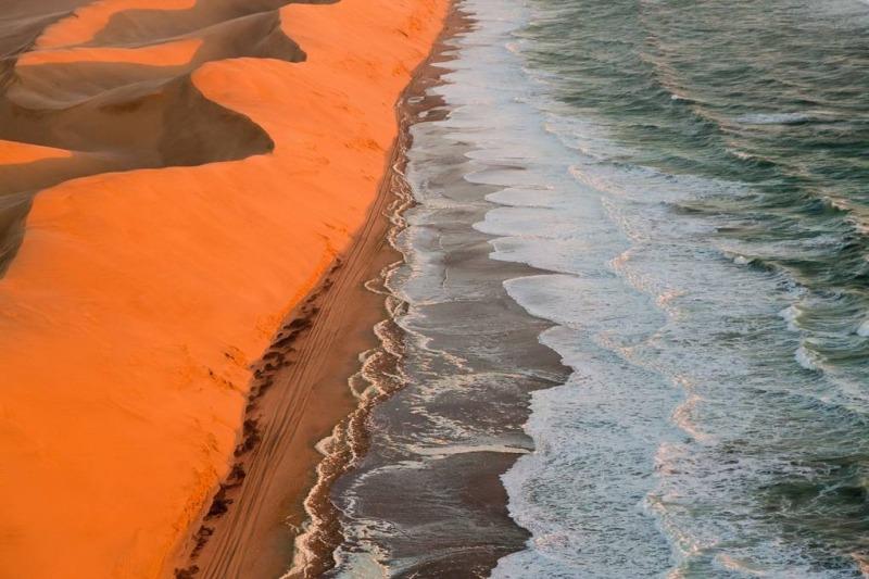 صحرای نامیب در نامیبیا- زیباترین مکان های جهان