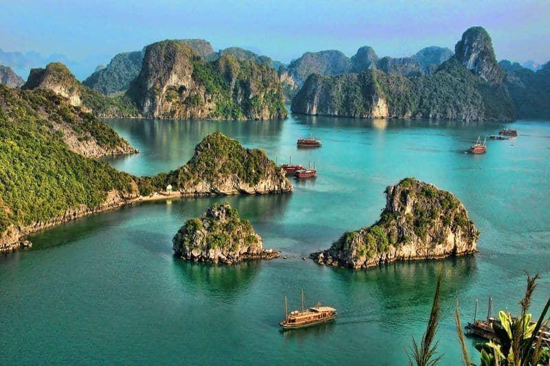 خلیج هالونگ ویتنام - زیباترین مکان های جهان