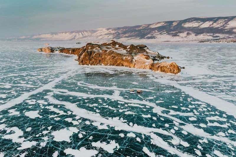دریاچه بایکال در روسیه- زیباترین مکان های جهان