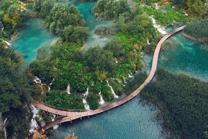 پارک ملی دریاچههای پلیتویک کرواسی- زیباترین مکان های جهان