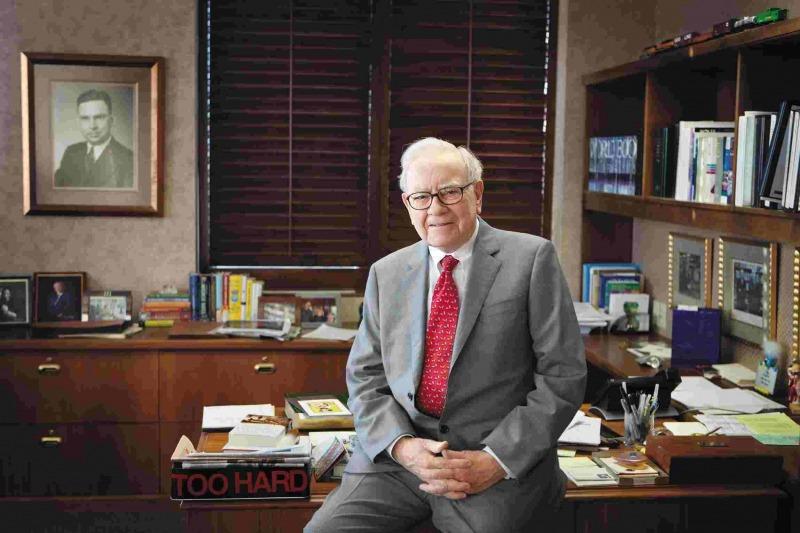 دفتر کار وارن بافت بزرگترین سرمایهگذار بازار سرمایه