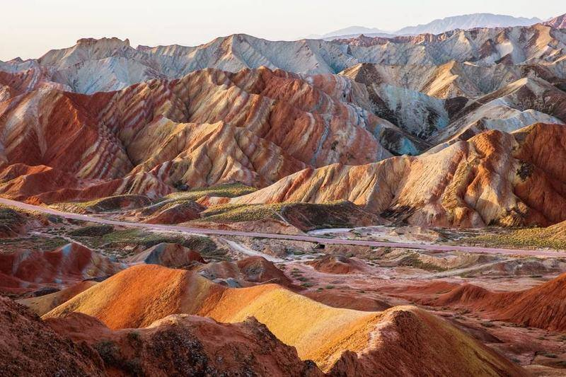 پارک ملی ژانگی دانکسیا در چین- زیباترین مکان های جهان