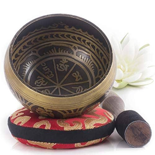 کاسه تبتی طرح عتیقه