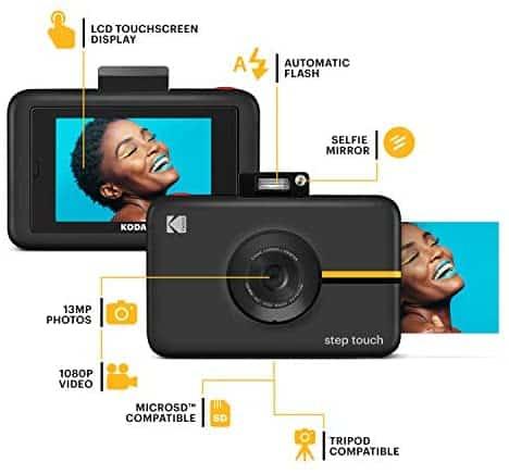 دوربین Kodak Step Touch با صفحه نمایش لمسی