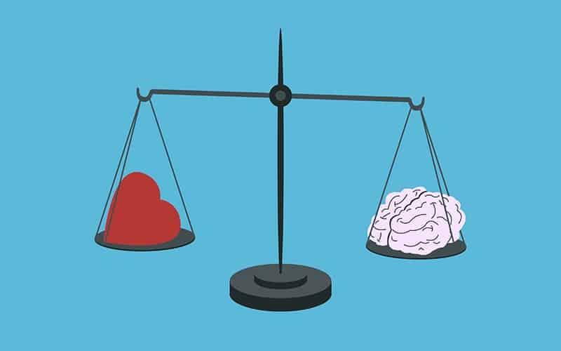 ذهن منطقی و احساسی