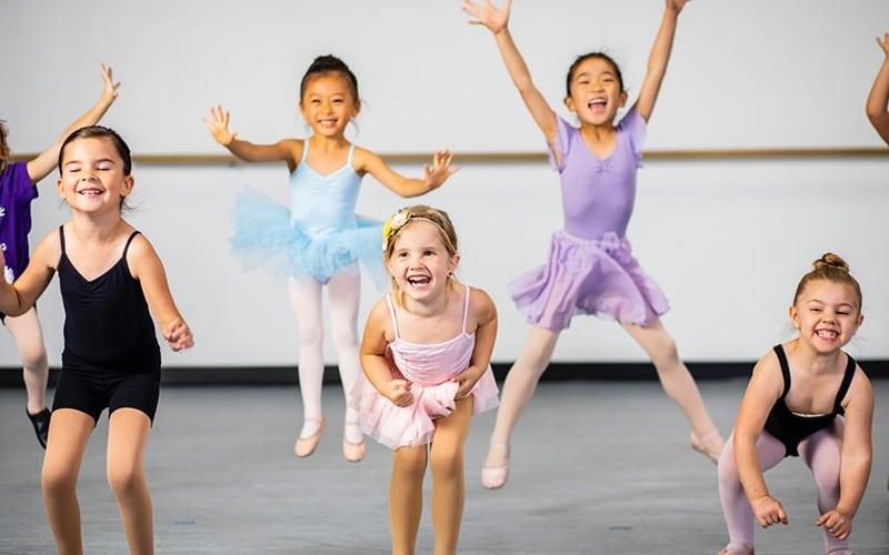 تاثیرات رقصیدن بر کودکان