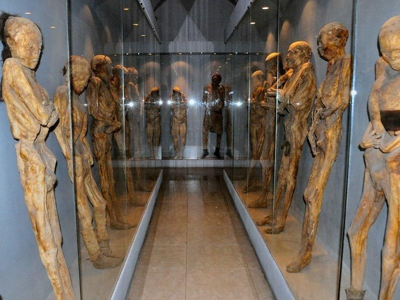 عکس های تاریخی ترسناک اجساد مومیایی