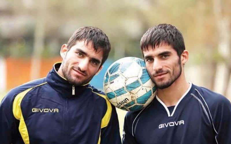 دوقلوهای معروف فوتبالیست