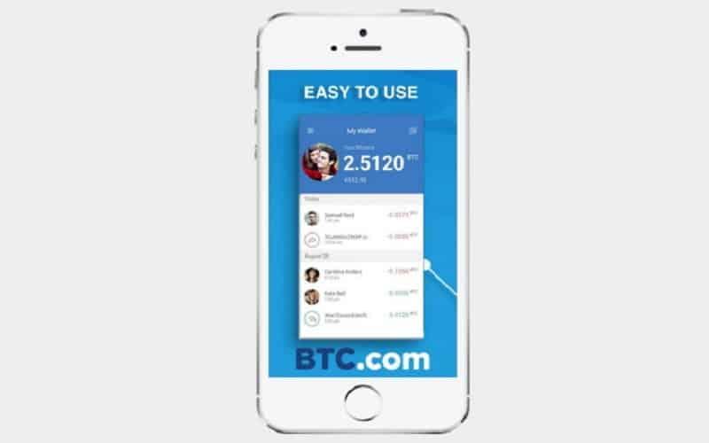 اپلیکشن کیف پول دیجیتال - BTC.com