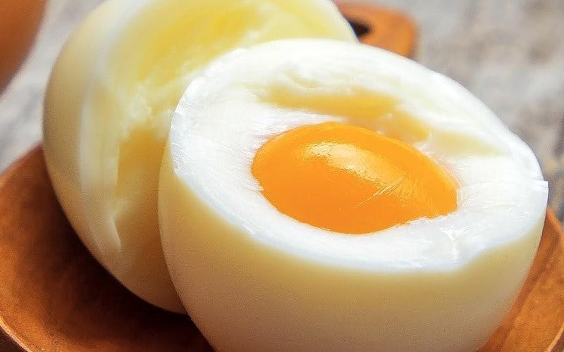 چربی شکم و تخم مرغ