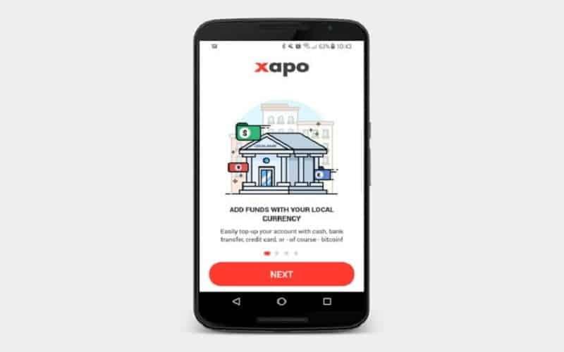 اپلیکشن کیف پول دیجیتال - Xapo