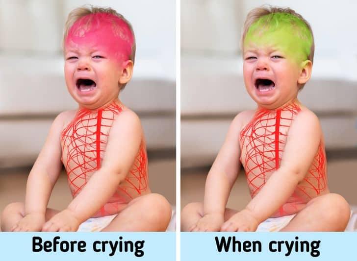 گریه کودکان، درد را کاهش میدهد