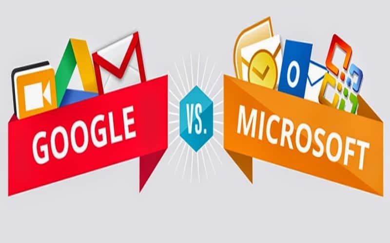 رقبای دیرینه- گوگل و مایکروسافت