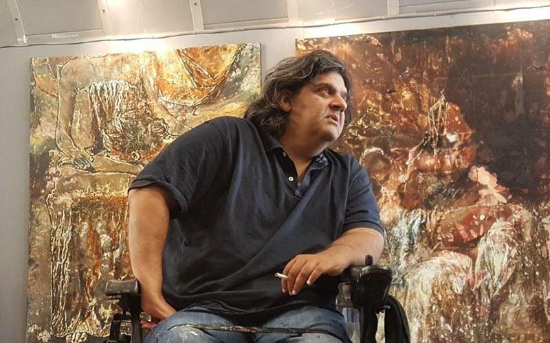 افشین ناغونی نقاش معاصر ایرانی