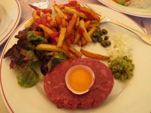 غذای عجیب مردم فرانسه