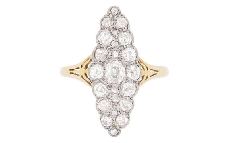 حلقه ازدواج - انگشتر الماس