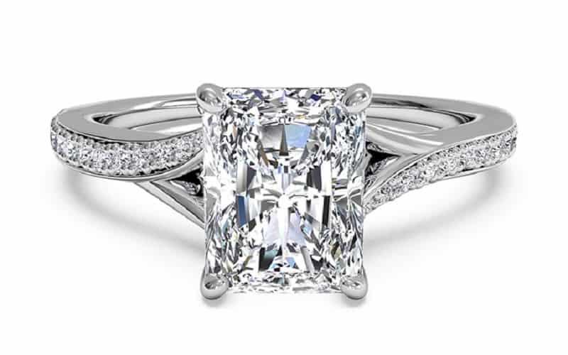 حللقه ازدواج - الماس