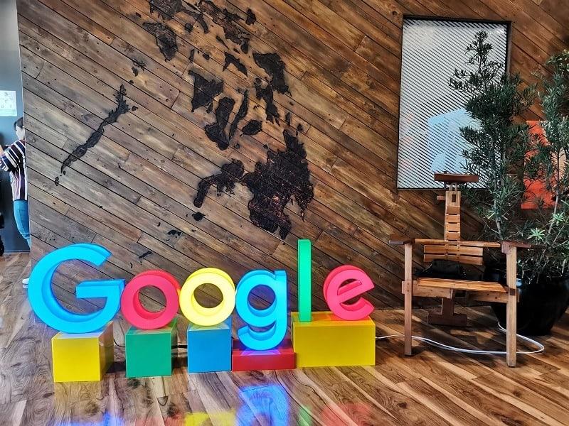 محیط کار شرکت گوگل