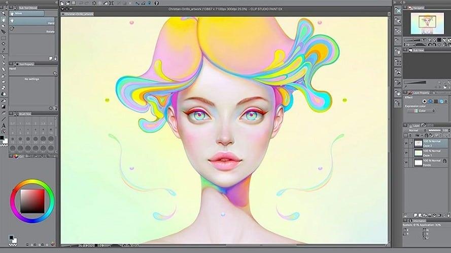 کلیپ استدیو پینت پرو Clip Studio Paint Pro
