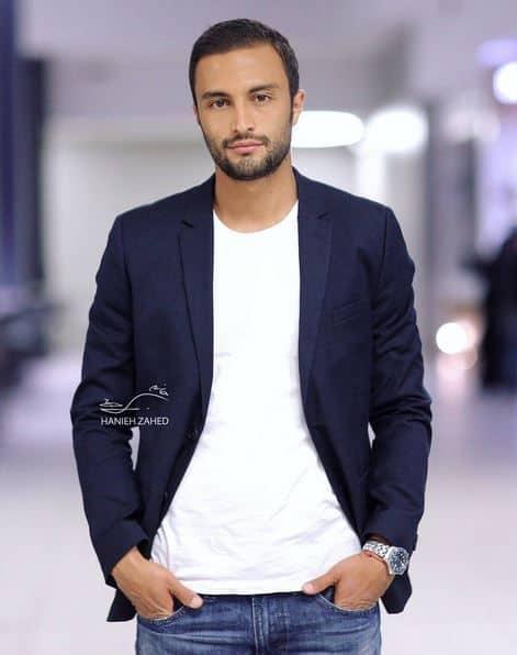 جذاب ترین بازیگران مرد ایرانی- امیر جدیدی